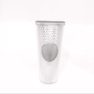 Starbucks Silver Studded Tumbler